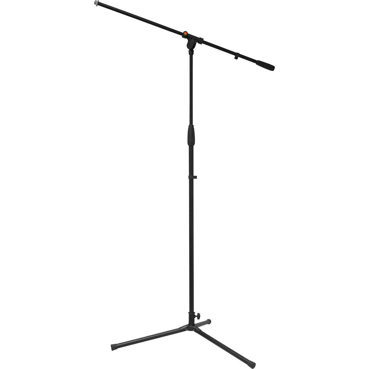 K/&M 25950 REIN Low Level Tripod Microphone Stand w// Mic Clip /& Cable